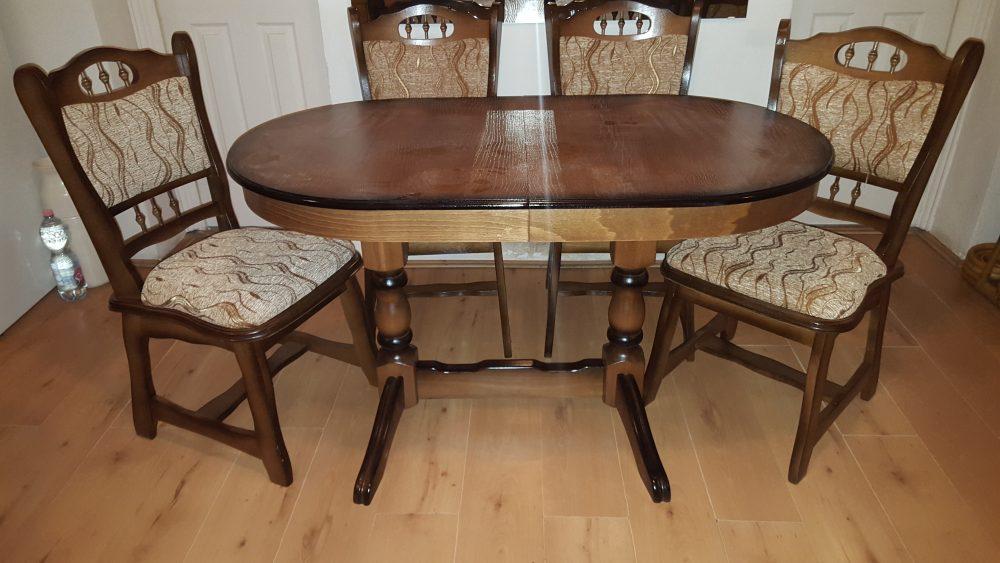 münchen asztal székkel