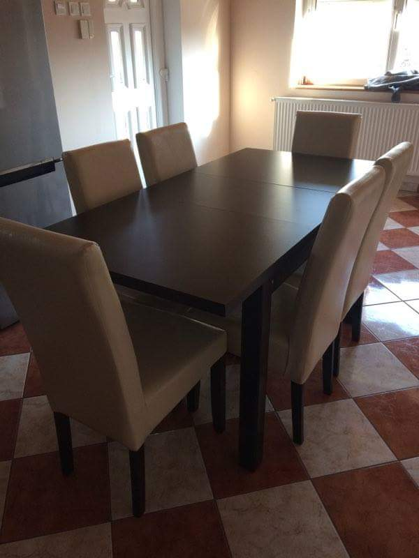Szénási Bútor - Berta-étkezőgarnitúra-6-személyes-Berta-asztal-6db ...