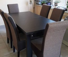 denis étkező berta asztallal dorina székkel