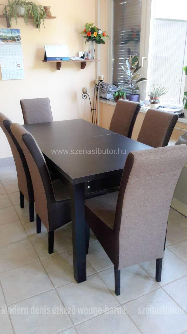 Szénási Bútor Denis étkező garnitúra berta asztallal