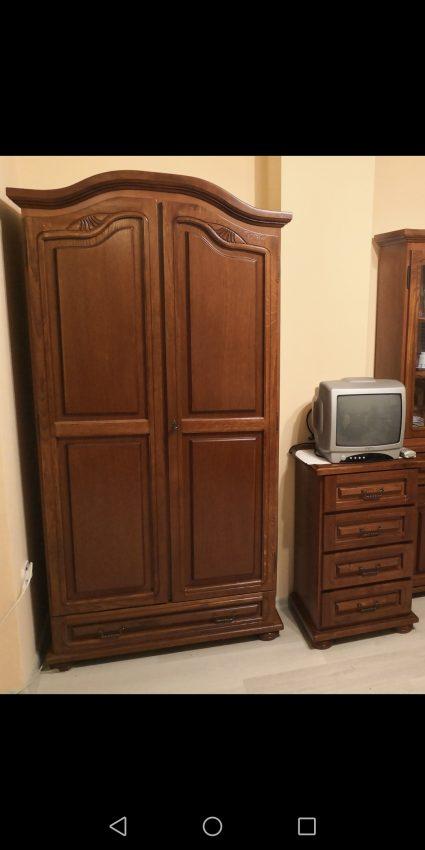 2 ajtós akasztós gardrób szekrény