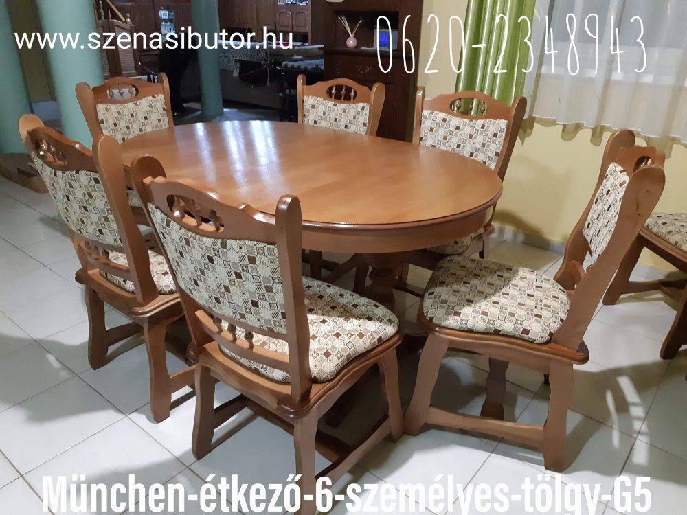 eladó asztal székkel békés