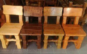 Kerti bútor, rönk kerti bútor, kerti szék